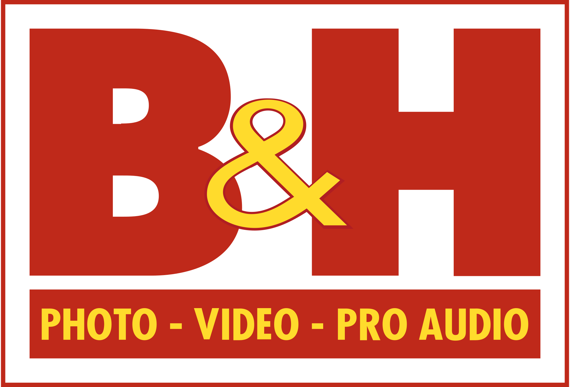 B&H Photo, Video & Pro Audio Logo